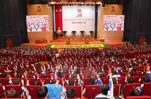 Union de Jovenes Comunistas Ho Chi Minh convoca congreso nacional hinh anh 1