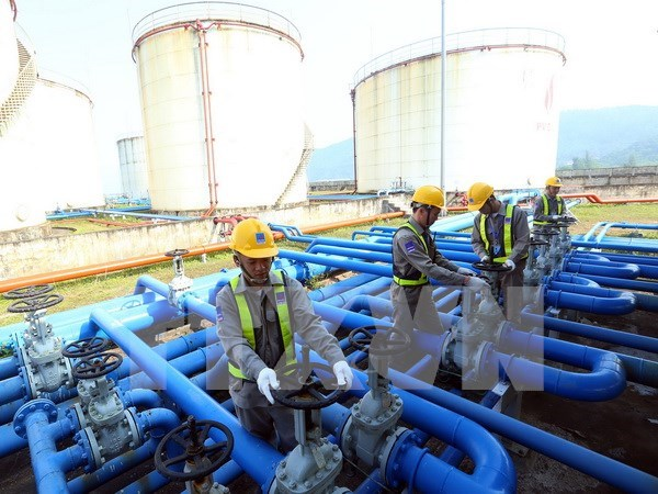 Explotacion petrolera del PCV sobrecumple meta trazada hinh anh 1