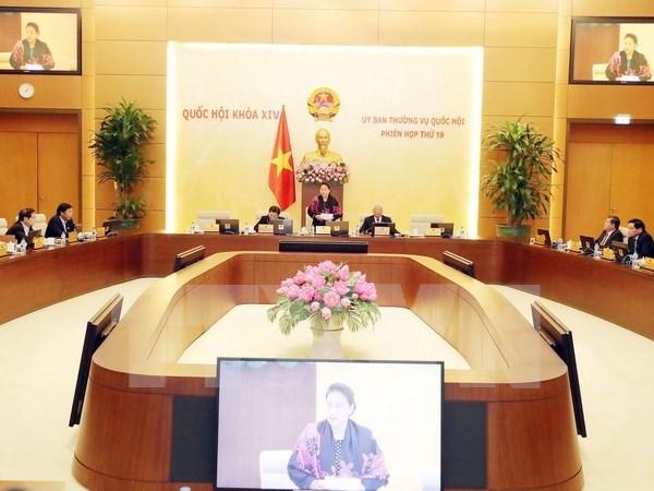 Inician XIX reunion del Comite Permanente del Parlamento vietnamita hinh anh 1