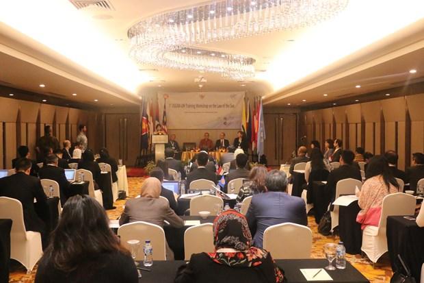 ASEAN y ONU mejoran conocimientos sobre derecho del mar hinh anh 1