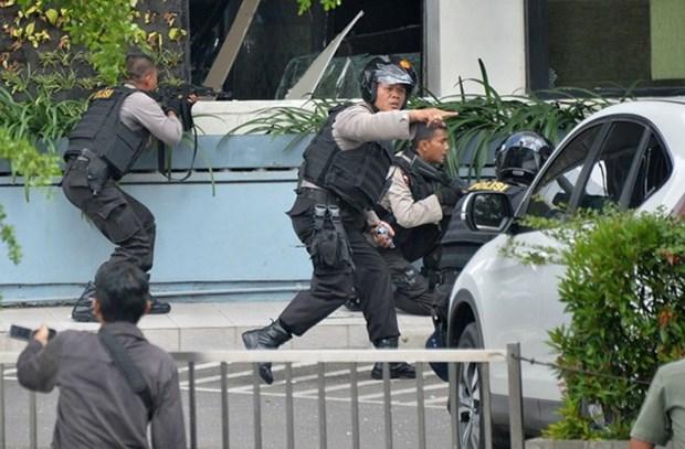 Indonesia refuerza seguridad antes la llegada de Navidad y Ano Nuevo 2018 hinh anh 1