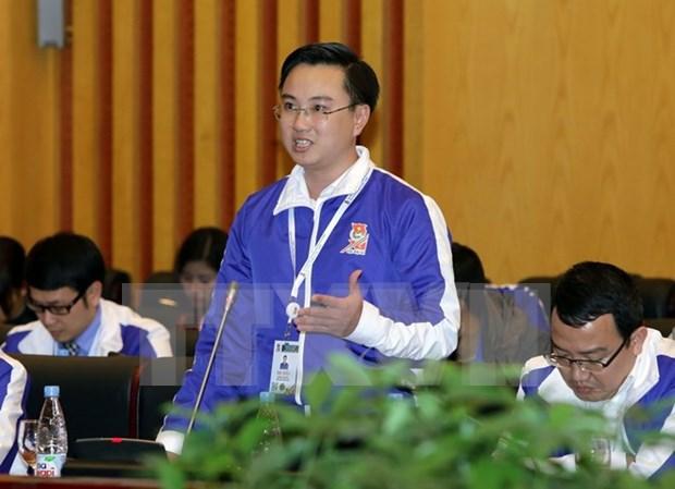 Debaten tareas de jovenes vietnamitas en actividades voluntarias y cuarta revolucion industrial hinh anh 1