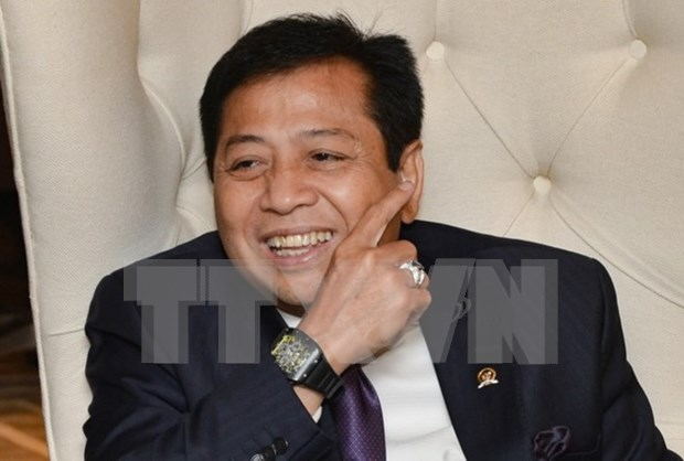 Presidente del Parlamento de Indonesia dimite despues de escandalo de corrupcion hinh anh 1