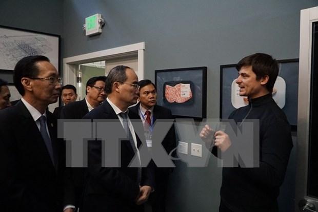 Ciudad Ho Chi Minh busca mayor cooperacion con grupos tecnologicos estadounidenses hinh anh 1