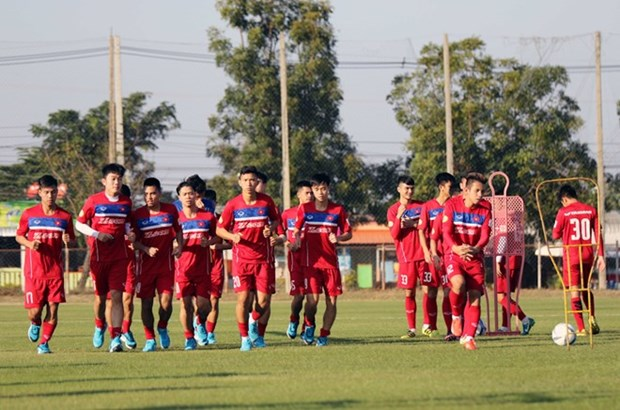 Inauguran XI Torneo internacional de futbol sub-21 del periodico Thanh Nien hinh anh 1