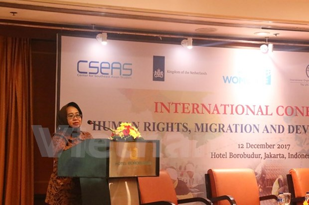 Elevan conciencia de paises de ASEAN sobre derechos de trabajadores migrantes hinh anh 1