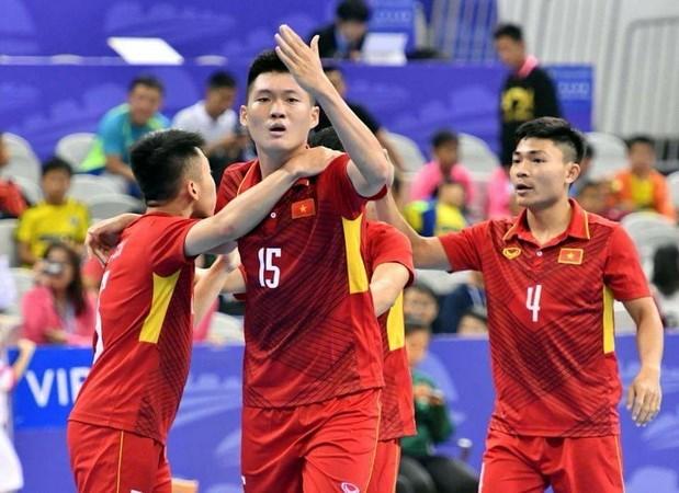 Publican resultados de sorteo de Campeonato de Futsal de Asia 2018 hinh anh 1