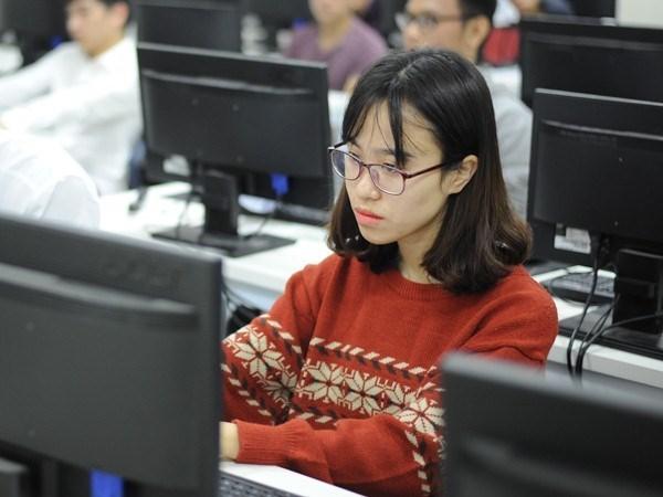 Estudiantes vietnamitas cosechan premios en concursos internacionales hinh anh 1
