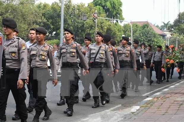 Indonesia fortalece seguridad antes de Navidad y Ano Nuevo hinh anh 1