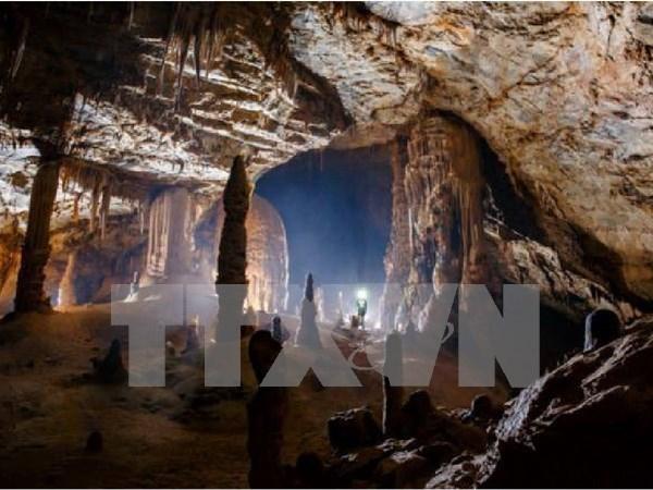 Descubren 58 grutas en la provincia vietnamita de Quang Binh hinh anh 1