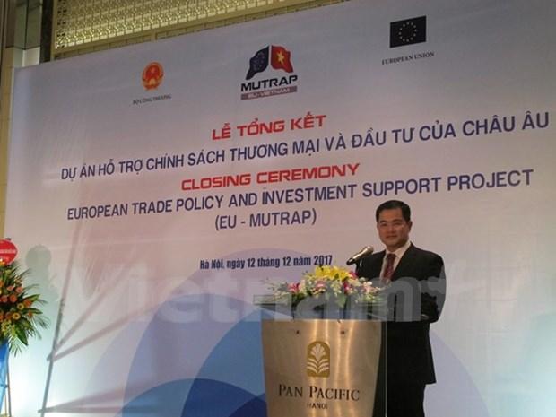 Proyecto EU-MUTRAP facilita proceso de integracion comercial de Vietnam hinh anh 1