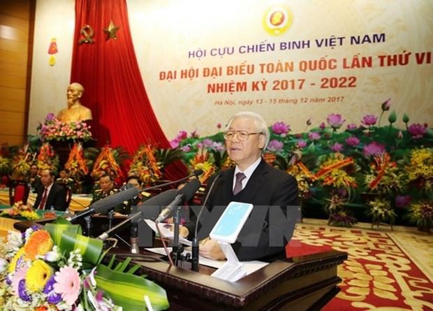 Inauguran congreso de Asociacion de Veteranos de Guerra de Vietnam hinh anh 1