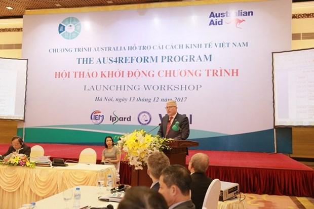 Australia renueva compromiso de apoyar la reforma economica de Vietnam hinh anh 1