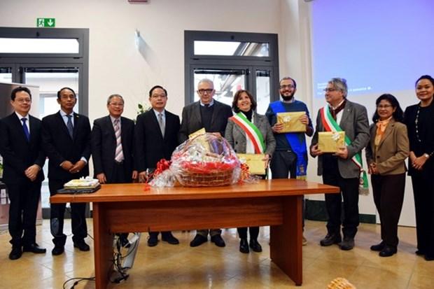 ASEAN, mercado prometedor para provincia italiana de Parma hinh anh 1