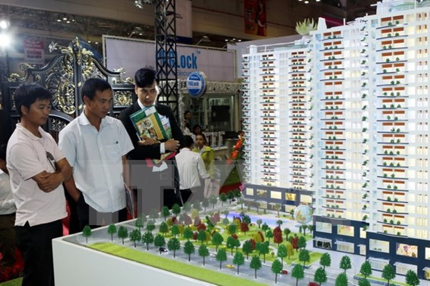 En Ciudad Ho Chi Minh feria internacional del sector inmobiliario hinh anh 1