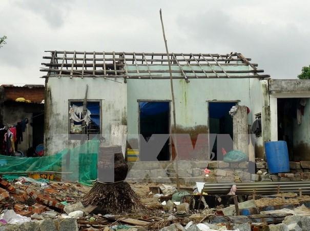 Union Europa proporciona ayuda financiera para vietnamitas afectados por tifon Damrey hinh anh 1
