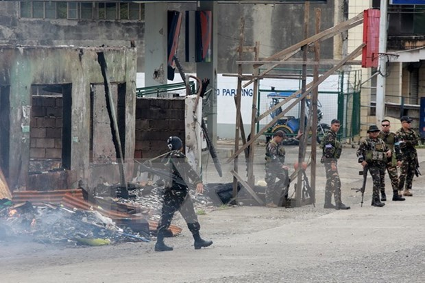 Congreso filipino aprueba extension de ley marcial en Mindanao hinh anh 1