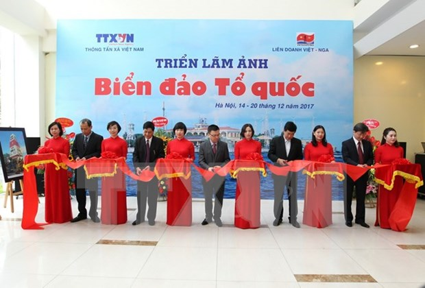La VNA celebra exposicion fotografica sobre mar e islas de Vietnam hinh anh 1