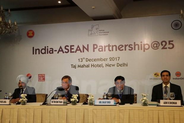Resaltan avance de los lazos ASEAN- India en 25 anos hinh anh 1