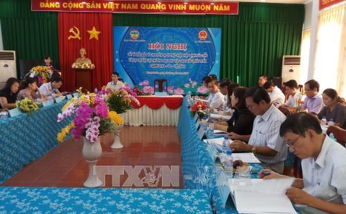 Debaten en Vietnam sobre cumplimiento del acuerdo de promocion comercial CLV hinh anh 1