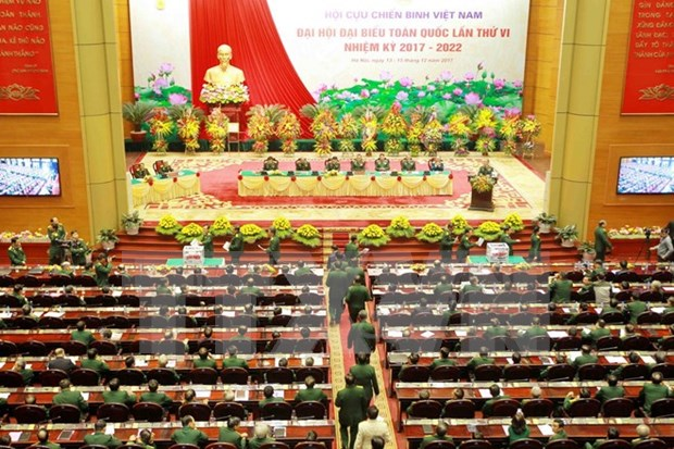 Asociacion de Veteranos de Guerra de Vietnam cierra su VI Congreso nacional hinh anh 1