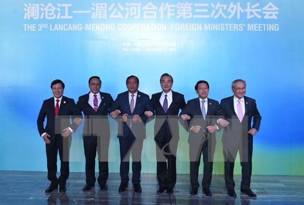 Vietnam con diferentes propuestas para impulsar la cooperacion Mekong- Lancang hinh anh 1