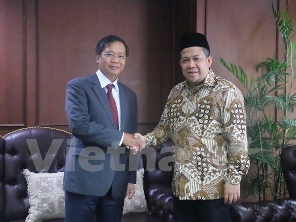 Reitera Indonesia atencion al impulso de lazos con Vietnam hinh anh 1