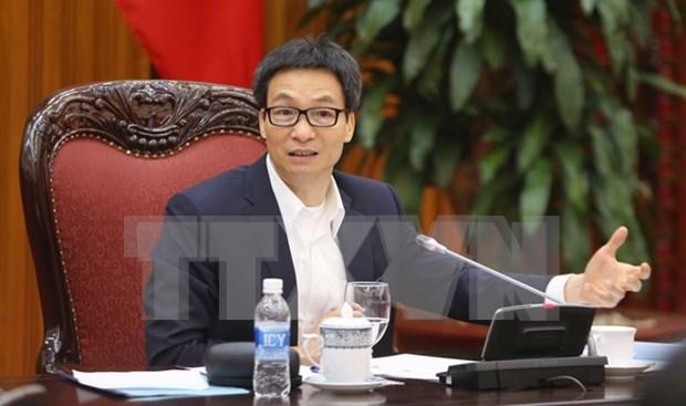 Vicepremier vietnamita destaca necesidad de informatizar sistema administrativo hinh anh 1