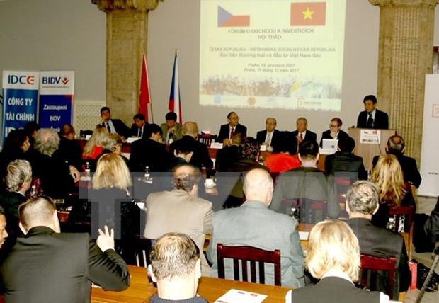 Buscan impulsar comercio e inversion entre Vietnam y Republica Checa hinh anh 1
