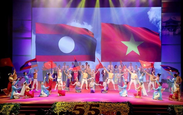 Visita del maximo dirigente pardista de Laos a Vietnam contribuira a fomentar solidaridad especial bilateral hinh anh 1
