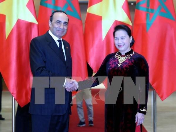 Vietnam y Marruecos por robustecer cooperacion parlamentaria hinh anh 1