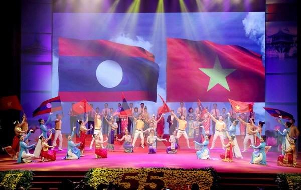 Cooperacion Vietnam – Laos reporta energico desarrollo hinh anh 1