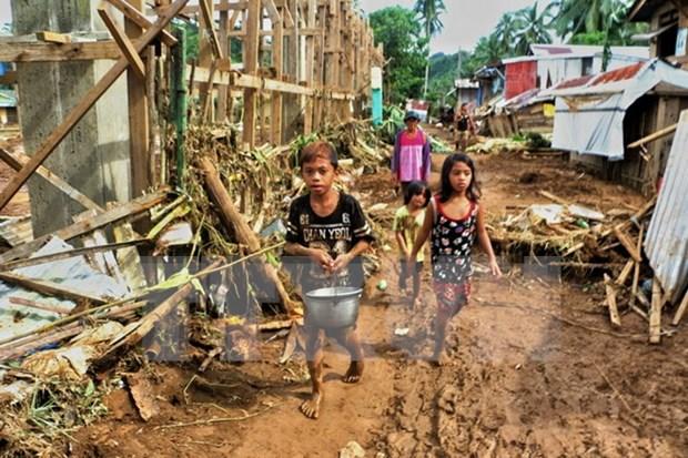 Tifon Kai- Tak cobra vida de al menos 31 personas en Filipinas hinh anh 1