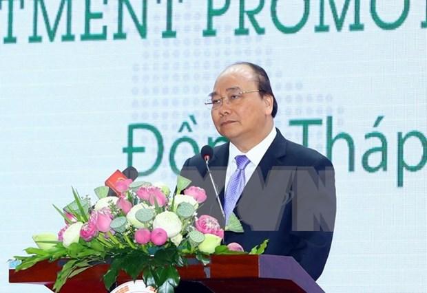 Dong Thap ofrece buen entorno inversionista a empresas, afirmo premier Nguyen Xuan Phuc hinh anh 1