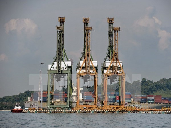 Crece valor de exportaciones de Singapur hinh anh 1