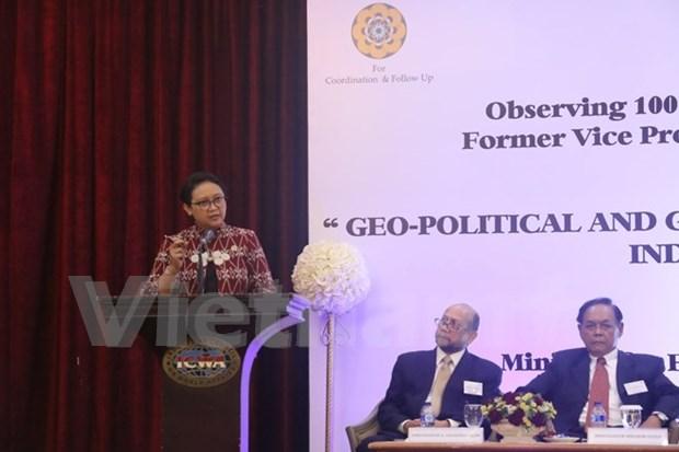 Esmerado Indonesia en impulsar progreso de ASEAN hinh anh 1