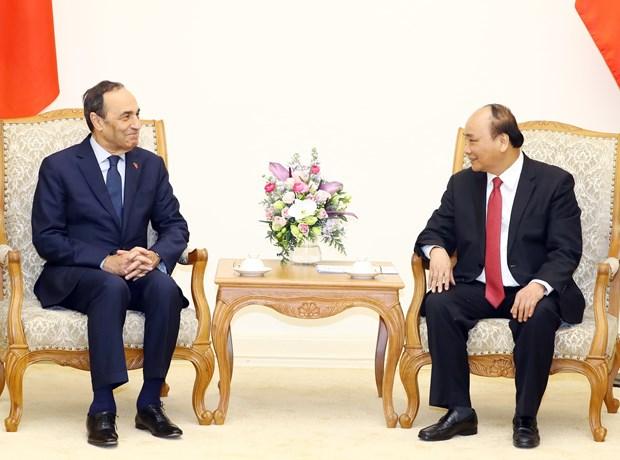 Vietnam abrira a Marruecos acceso a un mayor mercado, afirma premier Xuan Phuc hinh anh 1