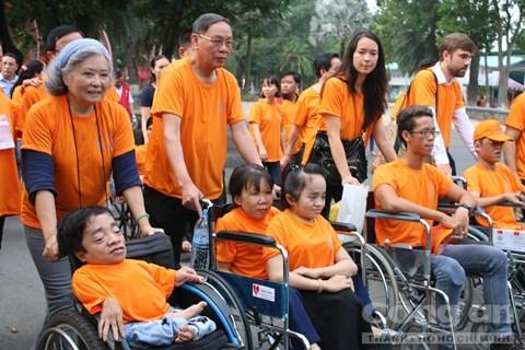 Intensificaran actividades a favor de victimas vietnamitas de agente naranja hinh anh 1