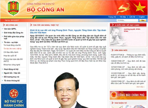 Inician procedimiento legal contra exdirector general del PVN hinh anh 1