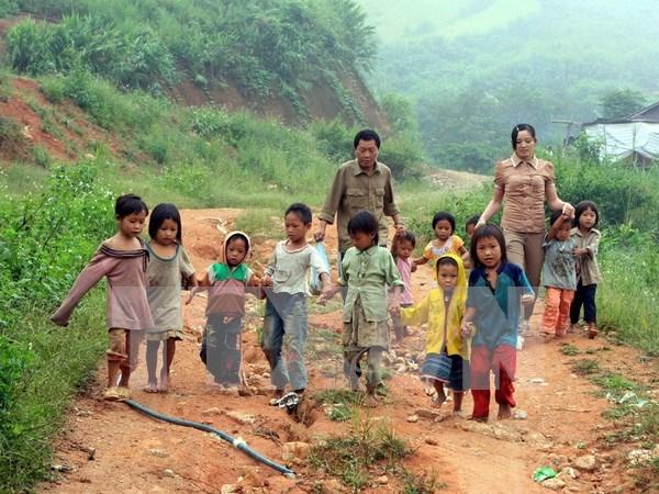 Irlanda financiara desarrollo de zonas de minorias etnicas en Vietnam hinh anh 1