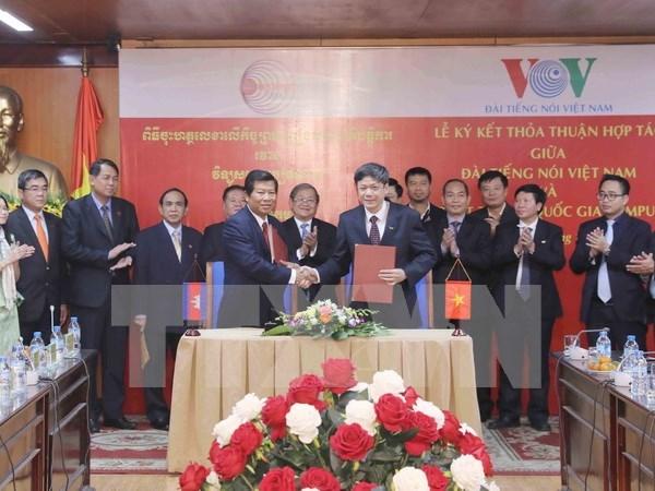 Vietnam y Camboya agilizan cooperacion en radio hinh anh 1