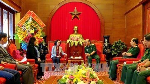 Diversas actividades marcan aniversario de fundacion del Ejercito Popular de Vietnam hinh anh 1
