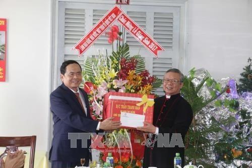 Presidente de FPV extiende felicitaciones de Navidad a comunidad catolica hinh anh 1