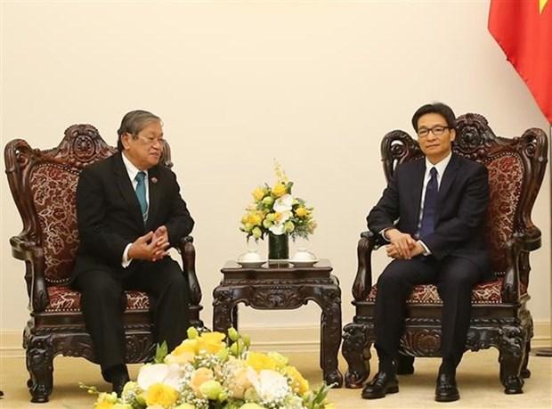 Vietnam y Camboya reafirman disposicion por estrechar la cooperacion hinh anh 1