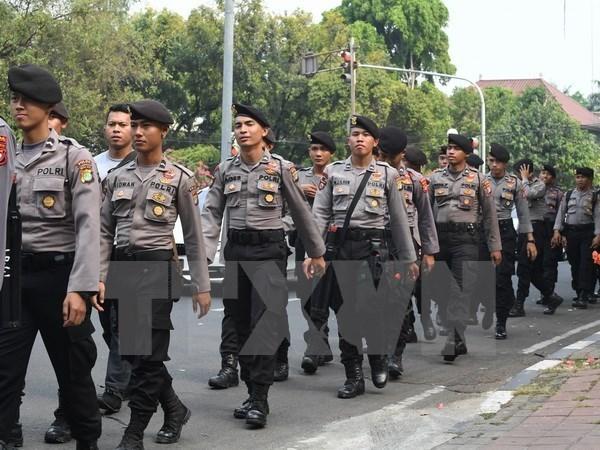 Indonesia refuerza seguridad en visperas de Navidad hinh anh 1