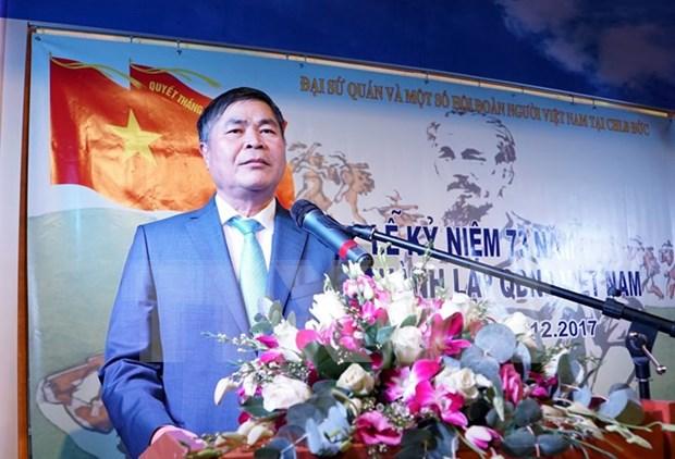 Celebran en Alemania y Tanzania aniversario de Fundacion del Ejercito Popular de Vietnam hinh anh 1