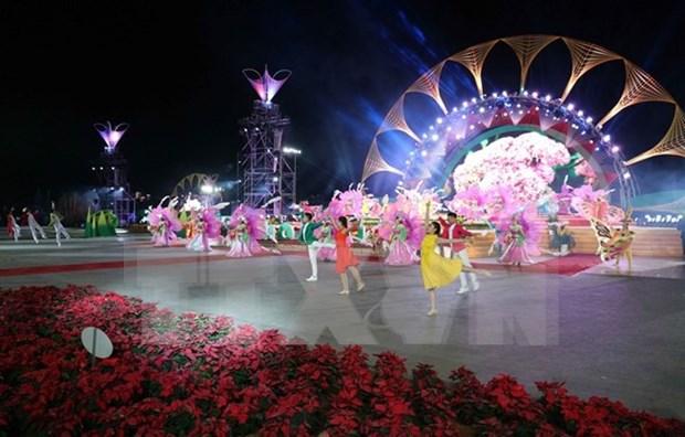Inauguran Festival de Flores de Da Lat hinh anh 1