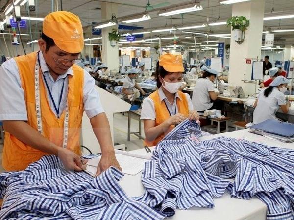 Industria textil de Vietnam alcanza destacados resultados en 2017 hinh anh 1