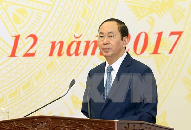 Presidente de Vietnam insta a avanzar en la reforma judicial hinh anh 1