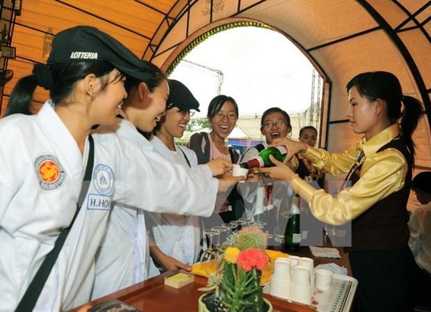 Amenas actividades en Festival de Flores de Da Lat hinh anh 1